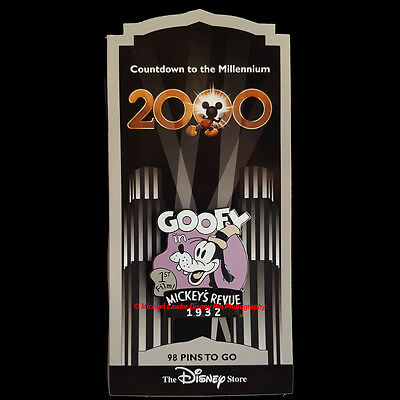 Disney Store Countdown To The Millennium #99 Goofy 1932 Pin Dippy Dawg