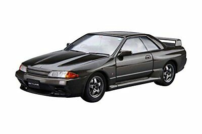 Aoshima The Model Car No.12 Nissan BNR32 Skyline GT-R '89 1/24 Scale Kit Japan