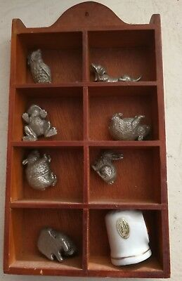 Little ornaments and shelf