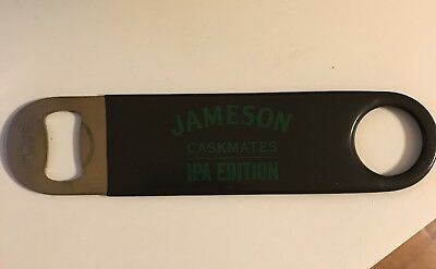 Jameson Caskmates Paddle Bottle Opener IPA Edition Speed Black Bar Limited Green