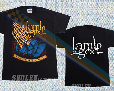 Lamb Of God Pray For The Cleansing New Black T-Shirt Limited Merch Tour Gildan