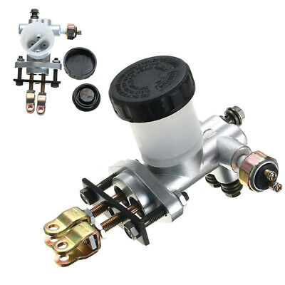 Motorcycle Hydraulic Clutch Master Cylinder Rod Brake Pump Kit For Go Kart Buggy