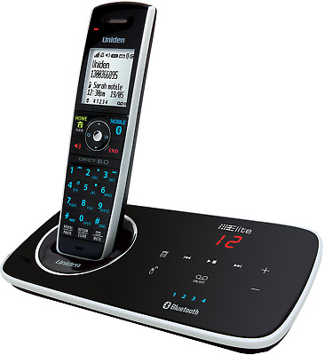 Uniden Elite 9135 Digital Cordless Phone Bluetooth Pair Up To 4 Mobile Phones