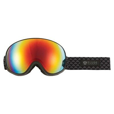 NEW Elude Men's New Union Goggles OSFA, Black from Rebel Sport