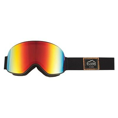 NEW Elude Men's Lifty Goggles OSFA, Black from Rebel Sport