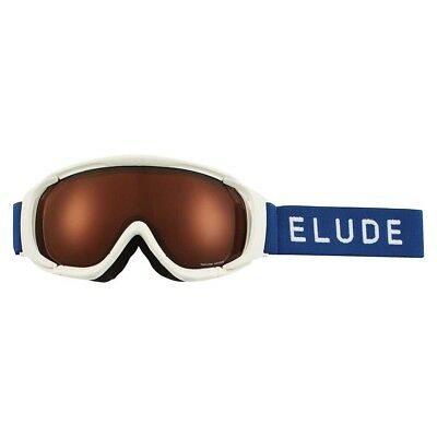 NEW Elude Men's J Goggles OSFA, White/Blue from Rebel Sport