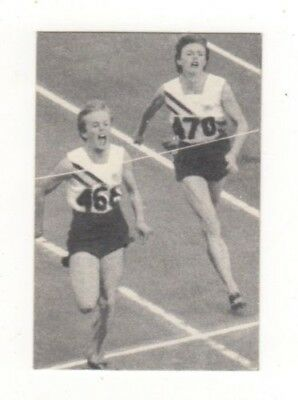 Sanitarium Australia. Melbourne Olympic Games Card 1956 - #14 Betty Cuthbert