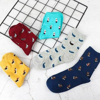 Fashion Cartoon Women Cotton Short Sock Casual Sock Lady Winter Autumn Warm Sock