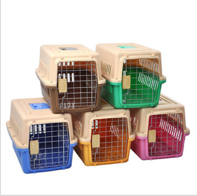 Airline Approved Pet Carrier Best Dog Crate Plastic Kennel 5 various sizes Cage