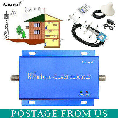 850MHz CDMA Cell Phone Signal Booster Amplifier Mobile Repeater for Office home