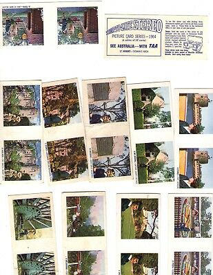 TAA  True Life Stereo Cards Weetbix Cards  1964