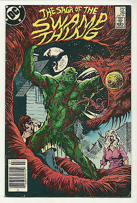 Saga Of The Swamp Thing 1984 #26 Fine Alan Moore