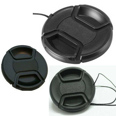 UK 58mm Front Lens Cap Hood Cover Snap-on For Canon Sony Olympus Nikon Camera