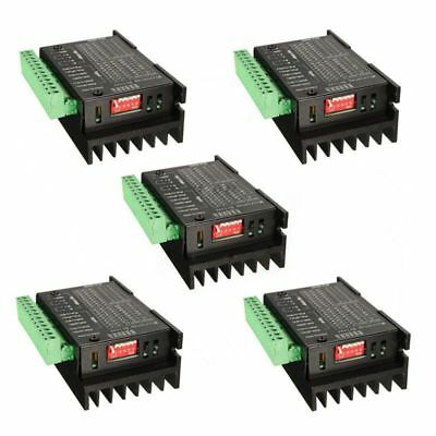 5PCS CNC Single Axis 4A TB6600 Stepper Motor Drivers Controller KL