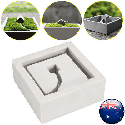 Silicone Flower Pots Mold 3d Handmade Cement Molds Silica Gel Concrete Moulds