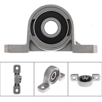 2PCS 8mm Bore Inner Ball Mounted Pillow Block Insert Bearing Support
