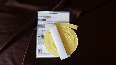Brother Knitmaster/SilverReed Self adhesive replacement sponge knitting machine