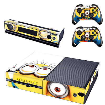Minions Console SKIN + 2 x Controller Stickers Decal for Xbox One FacePlate
