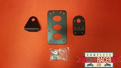 (Sm) Cafe Racer Side Mount Number Plate Bracket