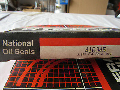 "National Federal Mogul 416345 Oil Seal 3.875"" X 4.999"" X .500"" NEW!!! in Box"