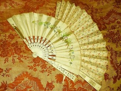 Two Antique Hand Fans for Display or Restoration