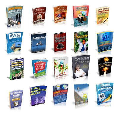 100 Business PDF eBooks Collection with Master Resell Rights