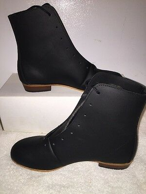 High Country, Size 5.5D WOMENS Clogging Tap Dance boots, Shoes, (no Taps) Black