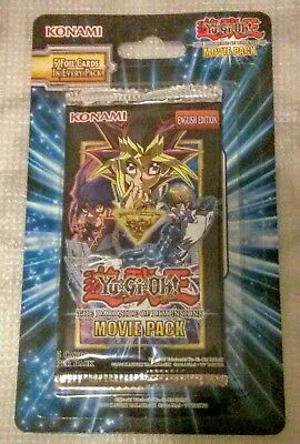 YuGiOh Dark Side Of Dimensions Movie Pack BLISTER NEW Yu-Gi-Oh! Booster Pack