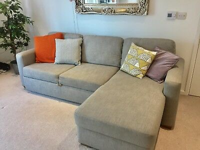 Outstanding John Lewis Large Grey Sacha Pull Out Sofa Bed 605 00 Gmtry Best Dining Table And Chair Ideas Images Gmtryco