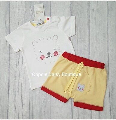 SALE - Baby Boys Lovely 2 Piece Summer Shorts Set  - 6mth 9mth 12mth  ☆