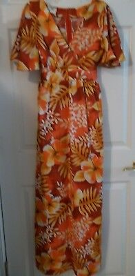 18f3bfaa7090 VINTAGE ISLAND FASHIONS Made In Hawaii Ladies Size 10 Dress W/Belt ...