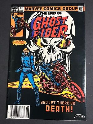 Ghost Rider #81 MARK JEWELERS VARIANT SCARCE/RARE KEY! FN/VF