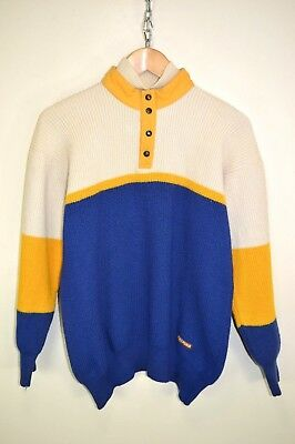 ce45a99c658bf VINTAGE 80S AUSTRALIAN BY L'ALPINA KNIT KNITTED WOOL CASUAL SWEATER JUMPER M
