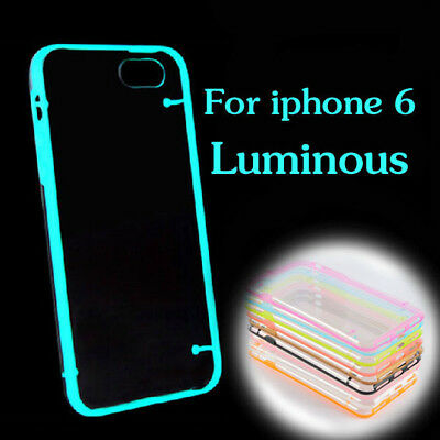 iPhone 6 Glow in the Dark Cases Silicone Durable Various Colours UK FAST & FREE