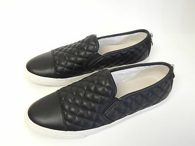 reputable site 80fe8 2e183 GEOX D NEW Club Slip-On Sneakers Women's Shoes, Black ( Size 9 US )