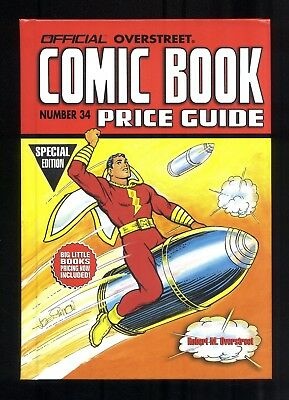 Official Overstreet Comic Book Price Guide #34 Hardcover Shazam Cover Special Ed
