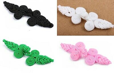 frog fasteners closure button 5 Different Colours S26