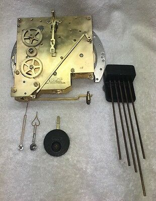 Antique Smiths & Field Clock Movement Westminster Chimes English/Great Britain
