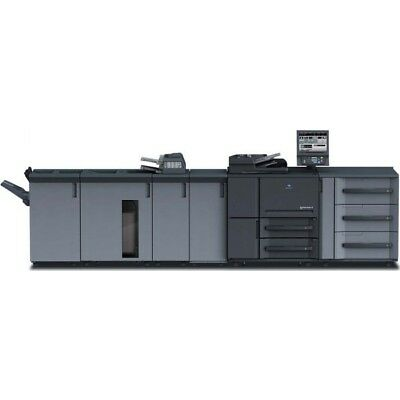 Konica Minolta Bizhub Press 1250 copier printer scanner - Only 2.6 mil meter