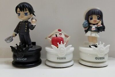 CLAMP NO KISEKI Vol-2 Queen Bishop Pawn Chess 3 Figure Grouping