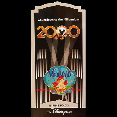 Disney Store Countdown To The Millennium #46 The Little Mermaid Ariel Pin