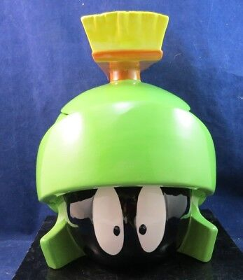 Warner Brothers Marvin The Martian Cookie Jar 1995 Six 6 Flags Theme Park w/box