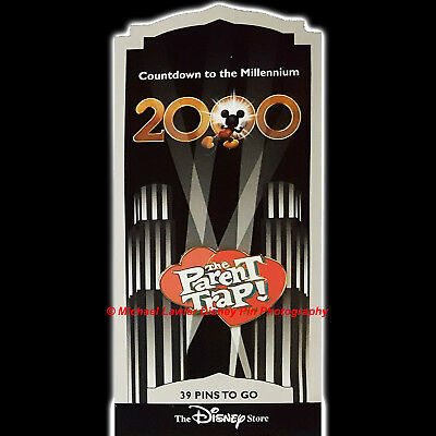 Disney Store Countdown To The Millennium Pin #40 The Parent Trap