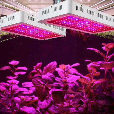 600W/1500W  Led plant grow lamp Croissance Floraison Horticole Light IR Crochet