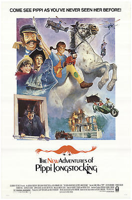 The New Adventures of Pippi Longstocking 1988 27x40 Orig Movie Poster FFF-69598