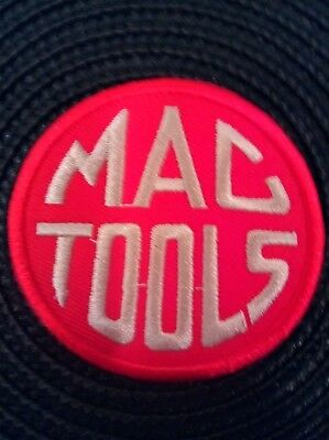 "MAC TOOLS Vintage Embroidered Iron On  PATCH 2.5"" X 2.5"""