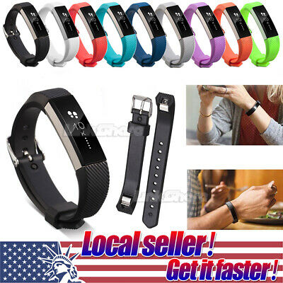 Replacement Silicone Wrist Band Strap Bracelet For Fitbit Alta Alta HR Watch st