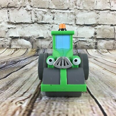 "Bob The Builder Roley The Road Roller 3.5"" Tall Rolling Figure"