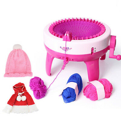 Children Knitting Machine DIY Handmade Scarves Hat Knit Scarf Machine 40 Needles