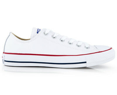 Converse Leather Chuck Taylor All Star Unisex Sneaker-White US M8.5 W10.5 TT1393